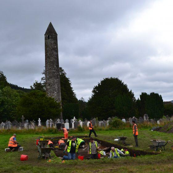 Community Excavation in Glendalough   D. Burns