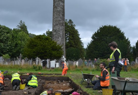 Glendalough Community Archaeological Excavations August 2018