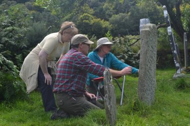 The Glendalough Community Graveyard Survey in Aug 2015 co-ordinated through the Glendalough Heritage Forum