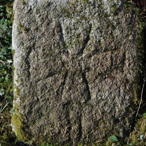 Medieval graveslab at Hollywood   Christiaan Corlett