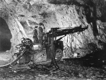 Drilling Operations in West Avoca in 1970's | Geological Survey of Ireland 1998