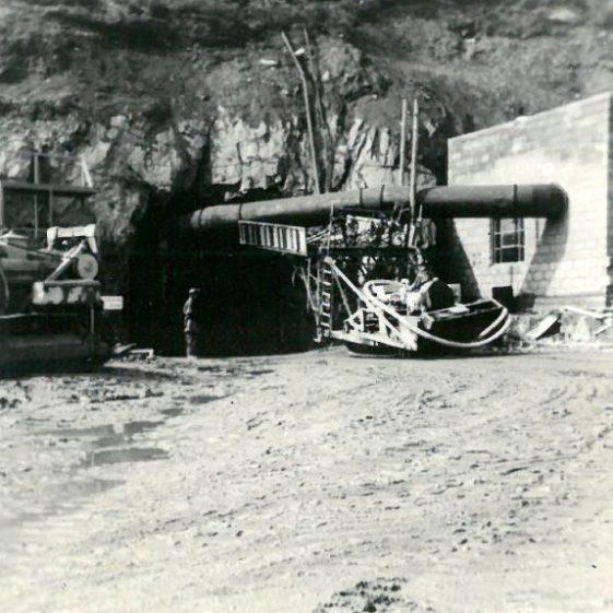 Drilling Platform Entering St. Patrick's Mine, Avova | Barry McKeon