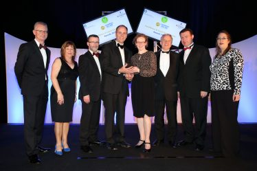 The award was presented to Wicklow County Council by Minister Alan Kelly and Ian Talbot, Chief Executive of Chambers Ireland | www.wicklow.ie