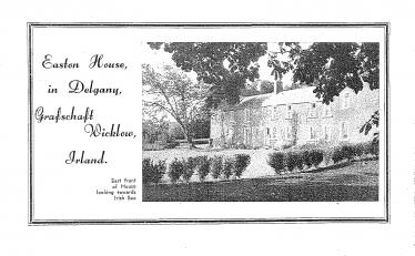 Language school in Easton House, Delgany