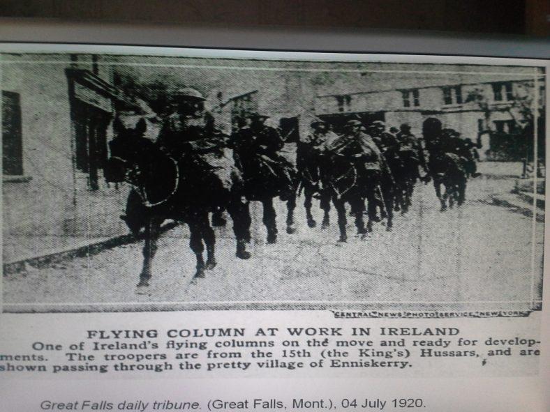 Enniskerry in the Civil War