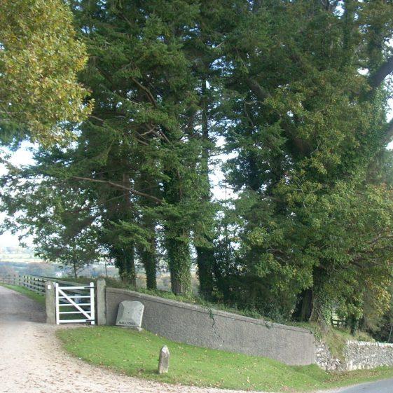Entrance to Ballybeg House | Ballinglen Development Committee