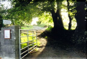 Entrance to old Church graveyard   Wicklow Way Group