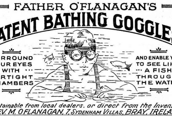 Fr. Flanagan's Patented Bathing Goggles