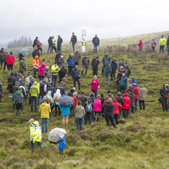 Field Visit as part as Wicklow Uplands Council SUAS Event   Wicklow Heritage Office