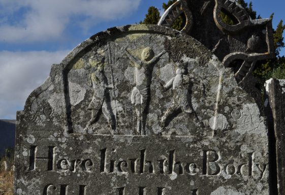 'Here Lyeth' A Talk on the Grave Memorials of Glendalough