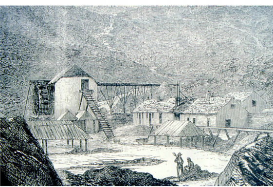 Mining in the Glendalough, Glendassan and Glenmalure Valleys