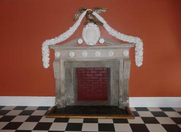 Fireplace at Shelton Abbey | Mary Hargaden