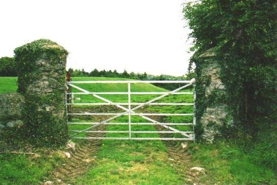 Rounded gate posts - feature of the area | Rathdrum Tidy Towns