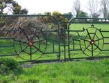 Gate made from wrought iron bed   Wicklow Way Group