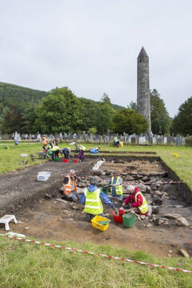 Community Excavation in Glendalough 2017   D. Burns
