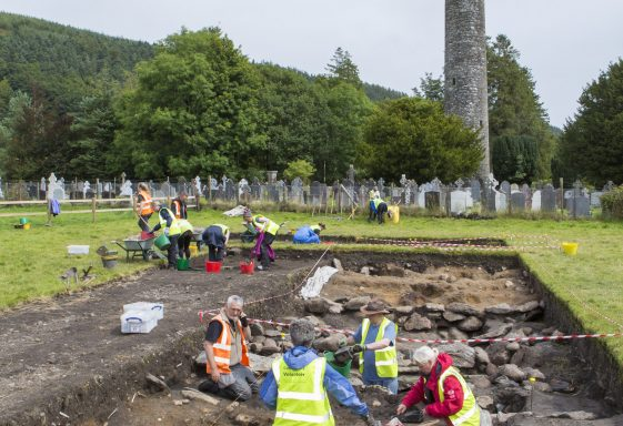 Excavations at Glendalough