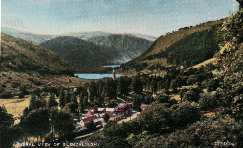 The valley of Glendalough | Wicklow County Council Library Service