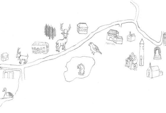 Glendalough  - A Monastic Mile