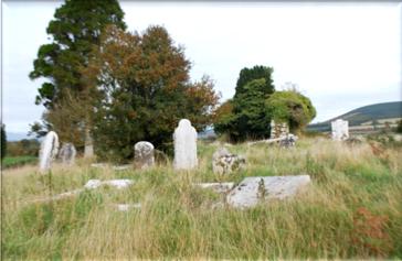 Old graveyard   Wicklow Way Group