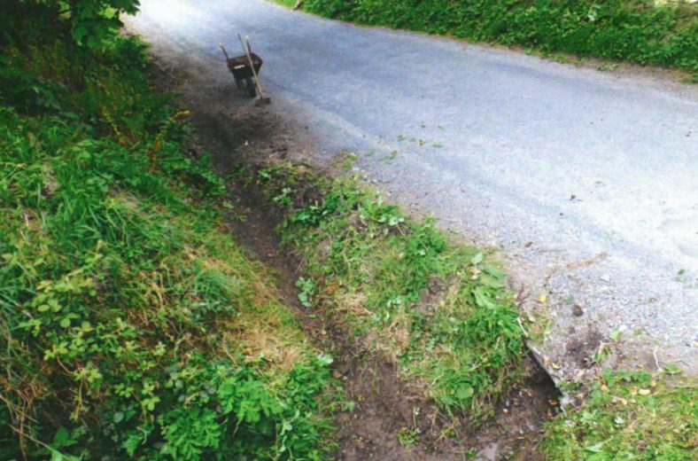 Clearing of roadside drains | Ballyguile More Group