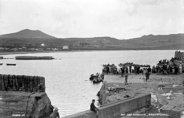 Greystones Harbour | Lawrence Collection (NLI)