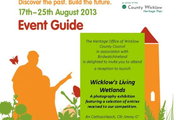 A Wicklow's Living Wetlands Photographic Competition