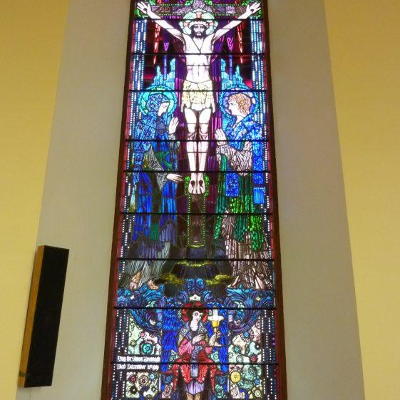 Harry Clarke - Crucifixion   Rathdangan Community Council