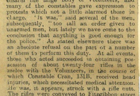 Howth Gun Running, July 1914