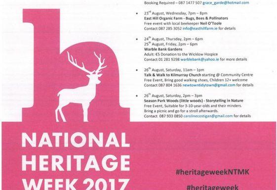 Newtownmountkennedy Heritage Week