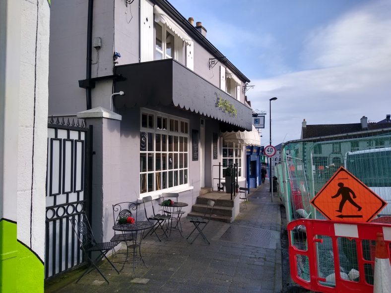 This was the site of Wicklow's oldest Cinema | Courtesy of Student Heritage