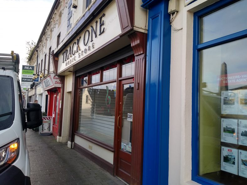 Track One(closed), Formerly M'Carthy's Hotel | Courtesy of Student Heritage