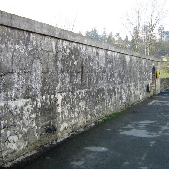 Wall at the Mill | Rathdrum Tidy Towns