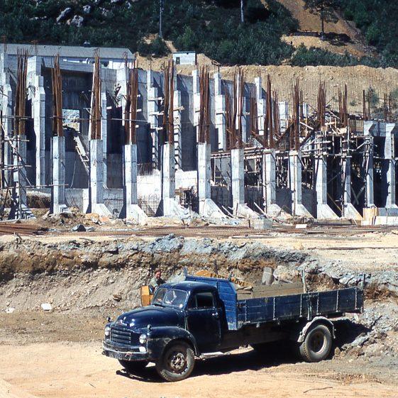 Construction at the Avoca mine