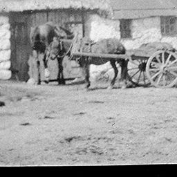 Blacksmiths Forge at Roundwood | JM Synge courtesy of TCD Digital Collection