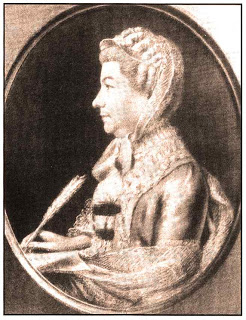 Lady Arbella Denny (1707-92) | From a pastel by Hugh Douglas Hamilton, RCB Library