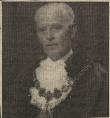 Laurence 'Larry' Edwards Lord Mayor of Blackburn