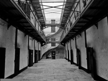 Interior showing Long Hall of Cells   Courtesy of Wicklow s Historic Gaol, see www.wicklowshistoricgaol.com