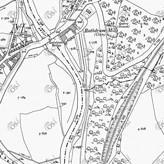 Ordnance Survey Map of Mile | OSI