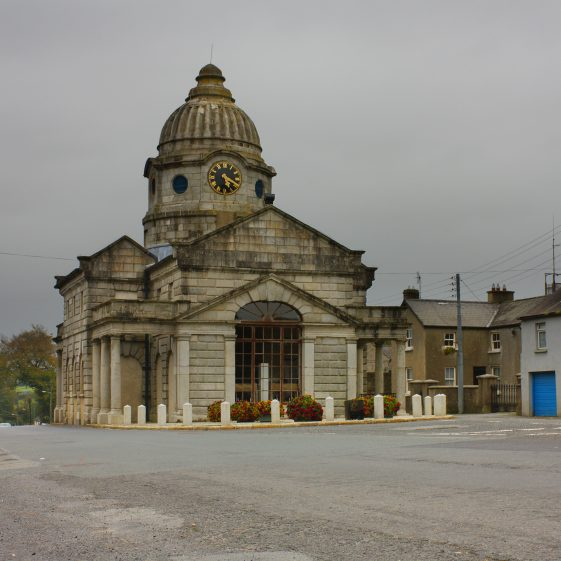 Market House Dunlavin - Built in 1743 - Designed by Richard Cassels - now a library. | Dunlavin Tidy Towns