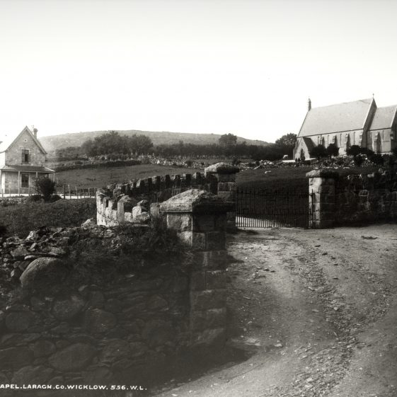 R.C. Chapel Laragh, Co. Wicklow   National Library of Ireland