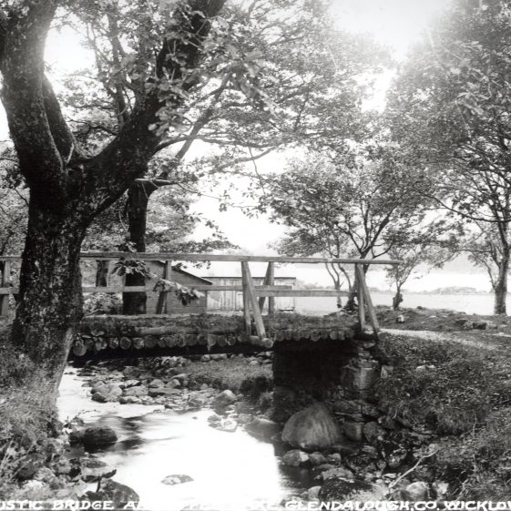 Rustic Bridge, Glendalough, Co. Wicklow   National Library of Ireland