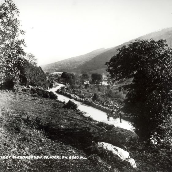 The Valley, Glendalough, Co. Wicklow   National Library of Ireland