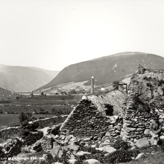 In the valley of Glendalough   National Library of Ireland