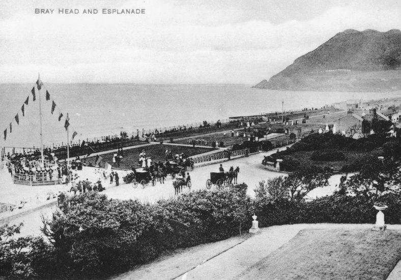 Old Bandstand beside Royal Marine Hotel Bray c.1900