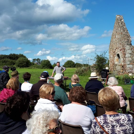 Heritage Open Day at St. Crispins Cell, Rathdown   Wicklow Heritage Office