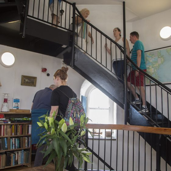 Exploring the interior of Wicklow Lighthouse   Wicklow Heritage Office