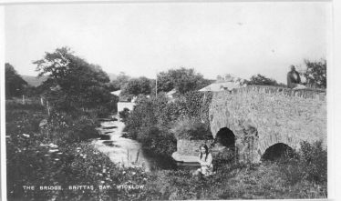 Old Photo of Bridge | Brittas Bay Coast Care