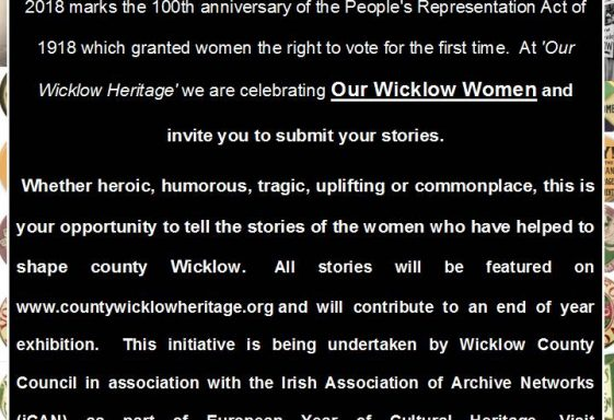 A Call to Action - Our  Wicklow Women