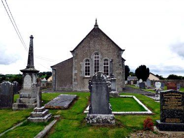 St. John the Baptist's Anglican Church c. 1780's   Mary Hargaden September 2015