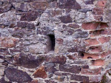 Bricked wall detail at Mill Buildings Stratford-on-Slaney   Mary Hargaden September 2015